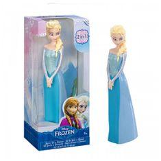 EP LINE 2 w 1 żel pod prysznic i szampon Frozen 3D Elsa 600 ml