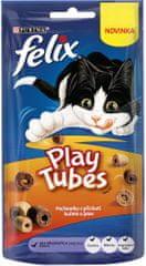 Felix przysmak dla kotów Play Tubes kurczak i wątróbka 8x50 g