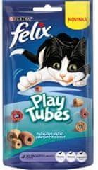 Felix Play Tubes hal és rák 8x50 g