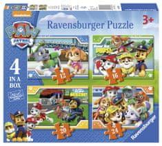 Ravensburger Kirakós játék 069361 Mancsőrjárat 4az1-ben