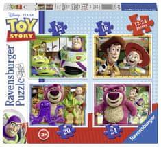 Ravensburger puzzle 071081 Toy Story: Historia zabawek 4 w 1