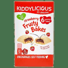 Kiddylicious Koláčky s jahodovou náplní 8x132g