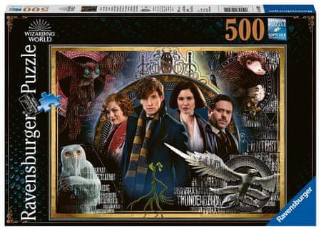 Ravensburger Puzzle 148202 fantastične živali, 500 delov