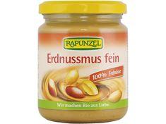 Rapunzel Bio 100% -ný arašidová pasta jemná 250g