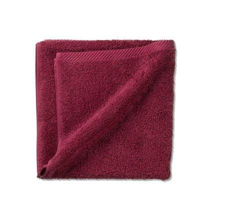 Kela ręcznik LADESSA 100 % bawełna, malinowy