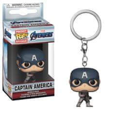 Brelok Avengers - Captain America (Funko)