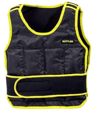 Kettler Basic utežni brezrokavnik, 6 kg, črn