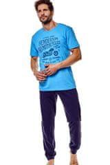 Henderson Pánske pyžamo 36204 Force 50x blue