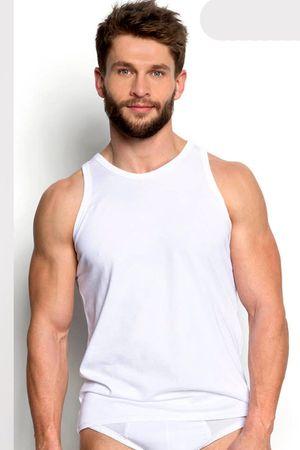 Henderson Férfi testhezálló póló 18732 Brass white, fehér, M