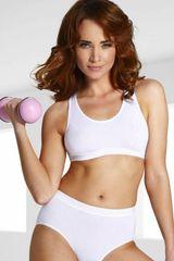 Eldar Fitness podprsenka Sierra white
