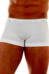 Brubeck Pánske boxerky 10050A white