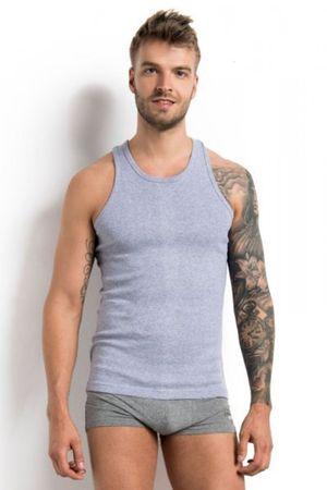 Henderson Férfi testhezálló póló 1480 M 100 graphite, szürke, XXL