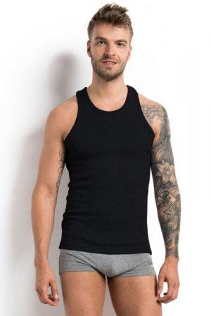 Henderson Férfi testhezálló póló 1480 M 100 black + Nőin zokni Gatta Calzino Strech, fekete, XXL