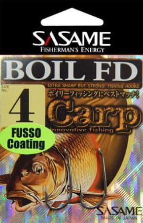Sasame Háček Boil FD Fusso teflon s očkem vel.4