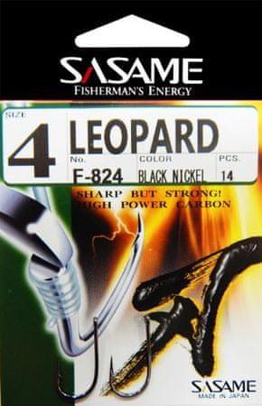 Sasame Háček Leopard s očkem vel.8