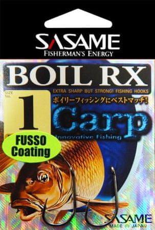 Sasame Háček Boil RX Fusso teflon s očkem vel.2