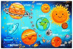Obsession Detský kusový koberec Torino kids 230 SOLAR SYSTEM
