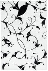 Obsession Kusový koberec Black and White 390 White