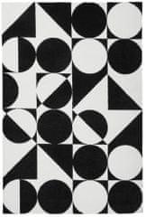 Obsession Kusový koberec Black and White 392 Black