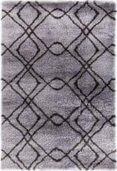 KJ-Festival Teppiche AKCE: Kusový koberec Carmella K11608-01 Light Grey Dark Grey (Pearl 510 L.Grey/D.Grey)