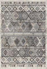 KJ-Festival Teppiche AKCE: Kusový koberec Rixos K11613-01 Grey (600 grey)