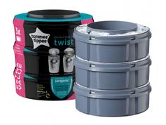 Tommee Tippee wkłady wymienne SANGENIC Twist&Click 3 szt.