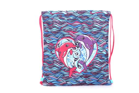 Akta S Cool vrečka za copate, delfin