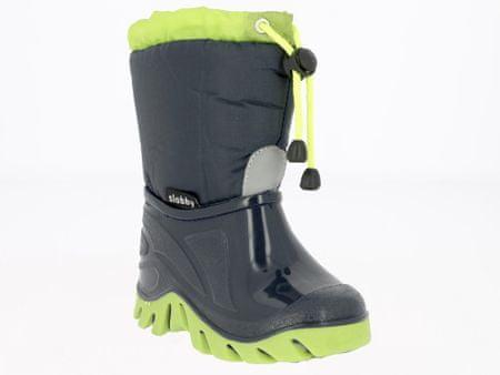 V+J otroški zimski čevlji, zeleni, 23