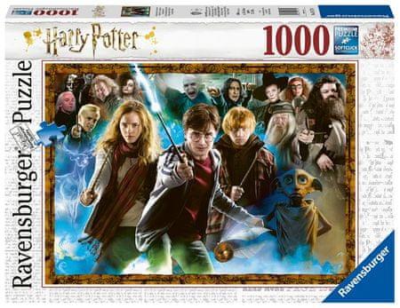Ravensburger sestavljanka 151714 Harry Potter, 1000 kosov