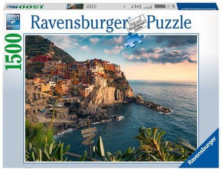Ravensburger Puzzle 162277 Cinque Terre látkép 1500 darab