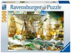 Ravensburger sestavljanka 139699 Velika čolnarska bitka, 5000 kosov