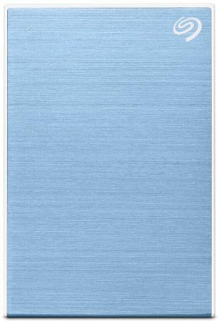 Seagate dysk Backup Plus Slim - 2TB, jasny niebieski (STHN2000402)