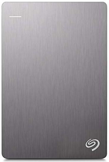 Seagate Backup Plus Slim - 2TB, šedá (STHN2000406)