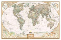 National Geographic Svět - nástěnná mapa Executive 188 x 122 cm