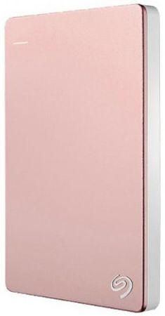 Seagate dysk Backup Plus Slim - 2TB, różowa (STHN2000405)