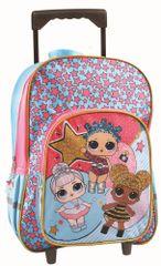 GIM školski ruksak s kotačima L.O.L.
