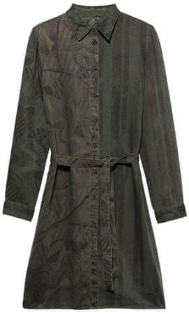 Desigual dámske šaty Vest Laica 36 zelená