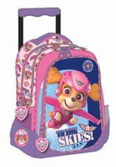 GIM dekliška šolska torba na kolesih Tačke na patrulji