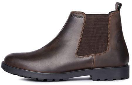 Geox pánská kotníčková obuv Rhadalf U845HD 00045 42.0 tmavě hnědá
