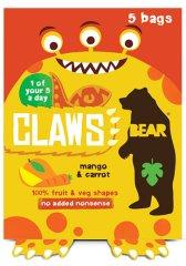 Bear Želé drápky Mango a mrkev 5x18 g