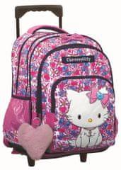 GIM Školský batoh na kolieskach Charmmy Kitty