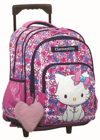 GIM školski ruksak s kotačima Charmmy Kitty