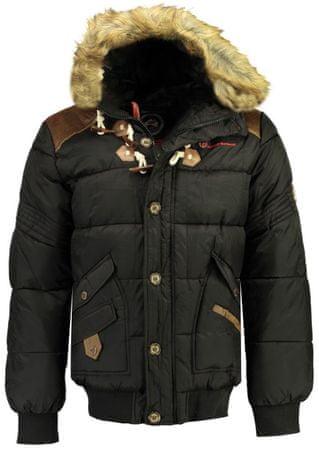 Geographical Norway Belphegore moška bunda, L, črna