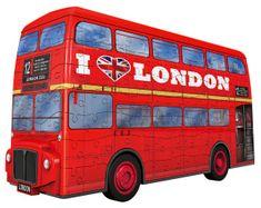 Ravensburger 3D sestavljanka 125340 Londonski avtobus, 216 kosov
