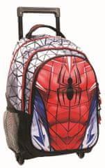 GIM šolski nahrbtnik na kolesih Spider-Man