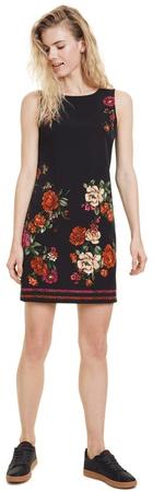 Desigual Vest Lency női ruha 36 fekete