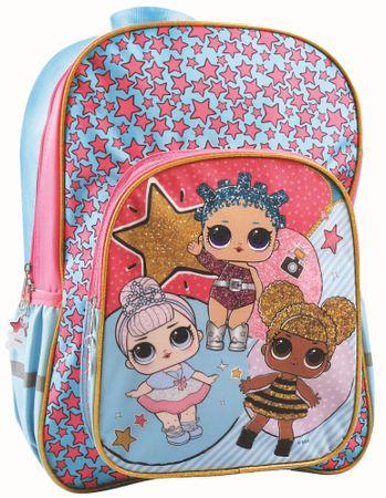 GIM Školní batoh oválný L.O.L.