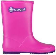 Coqui Buty dziecięce Rain y Fuchsia / Purple 8506-100-0543