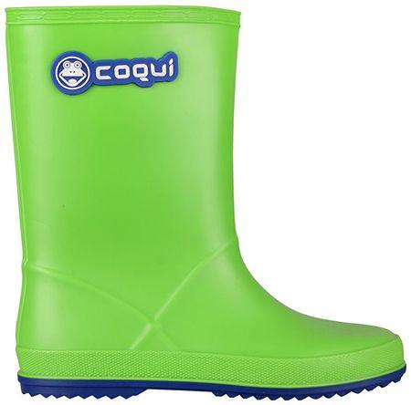 Coqui Gyermek csizma Rainy Lime / Blue 8506-100-1450 (méret 31)