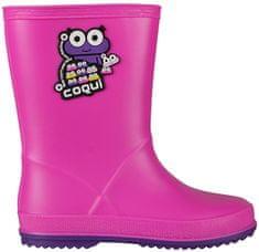 Coqui Buty dziecięce Rain y Fuchsia / Purple 8505-100-0543